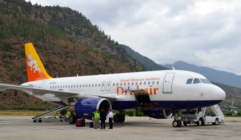 An image of Druk Airlines aircraft