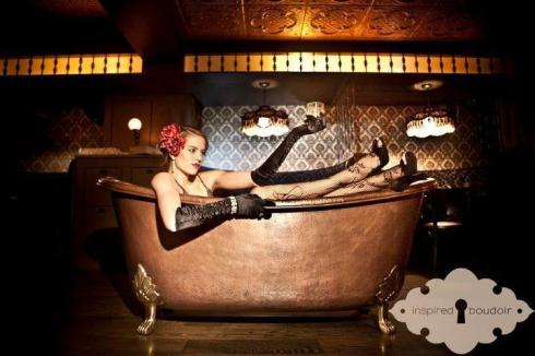 Decadent fun at Bathtub Gin
