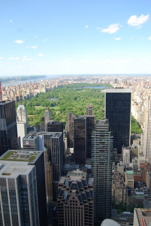 One of my favourite places to admire New York in all its glory- Top of the Rock