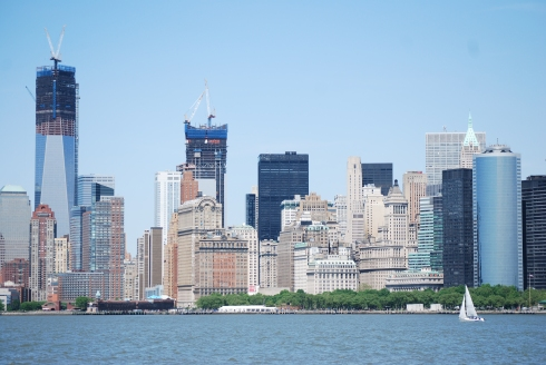 A view of Manhattan from the water