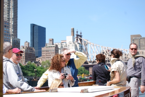 Enjoy the sights of Manhattan by classic yacht with Classic Harbour Line Cruises