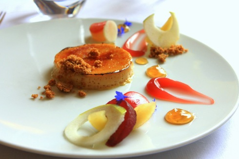 An image of one of the exquisite dishes at Eleven Madison Park