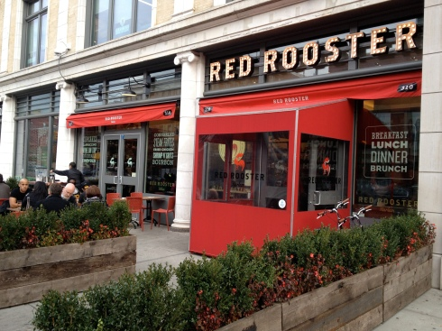 The exterior of Red Rooster Harlem