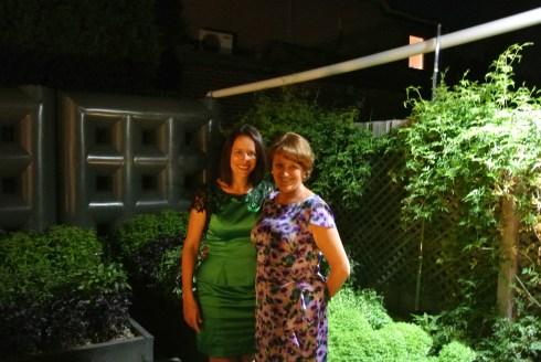 Enjoying the Herb Garden at Attica