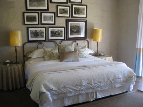 Bedroom at Kirkman's Camp