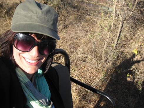 Me on my first game drive