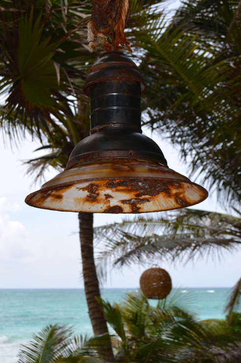 Lamp at Be Tulum