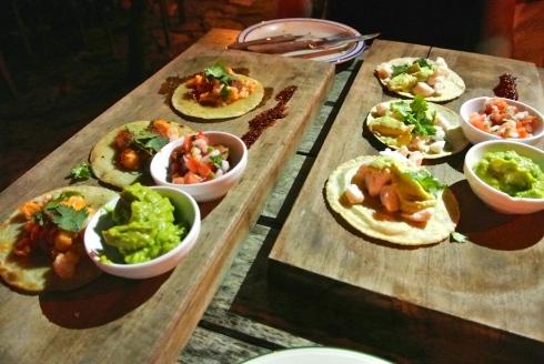 Shrimp and Fish Tacos
