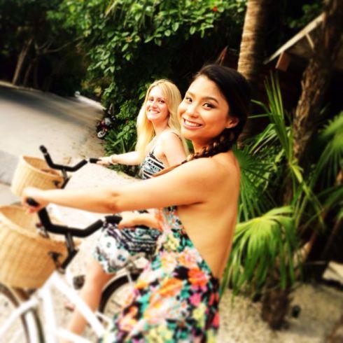 Riding in Tulum