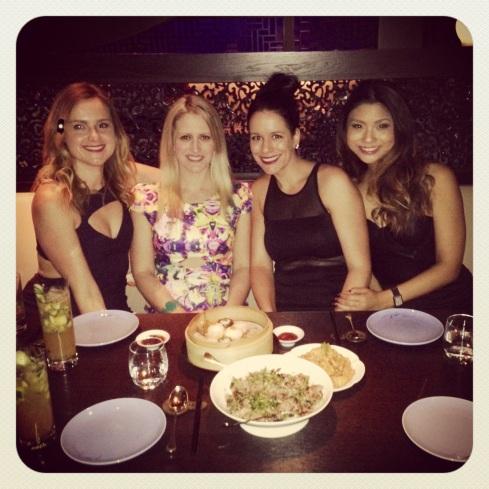 Ladies night out at Hakkasan