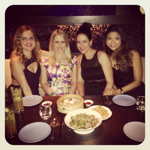 Ladies night out at Hakkasan