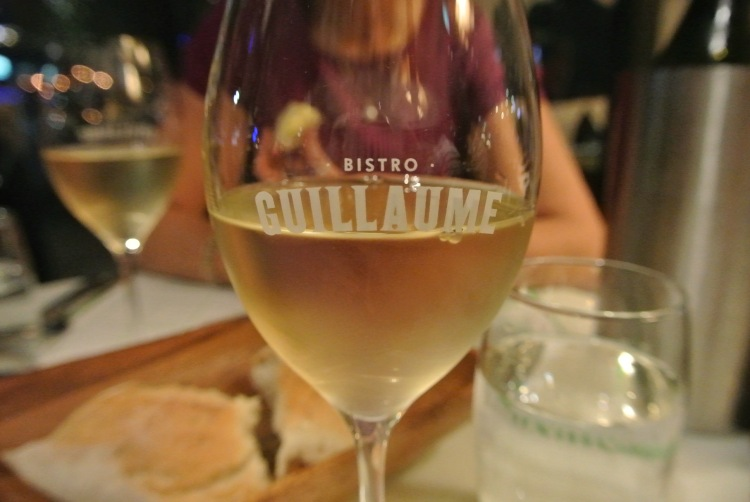 Wine at Bistro Guillaume