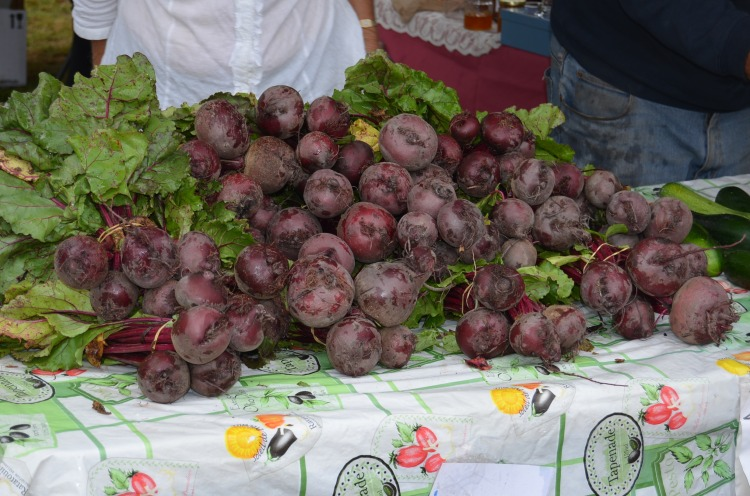 Fresh beetroot at Margaret River Farmers' Market