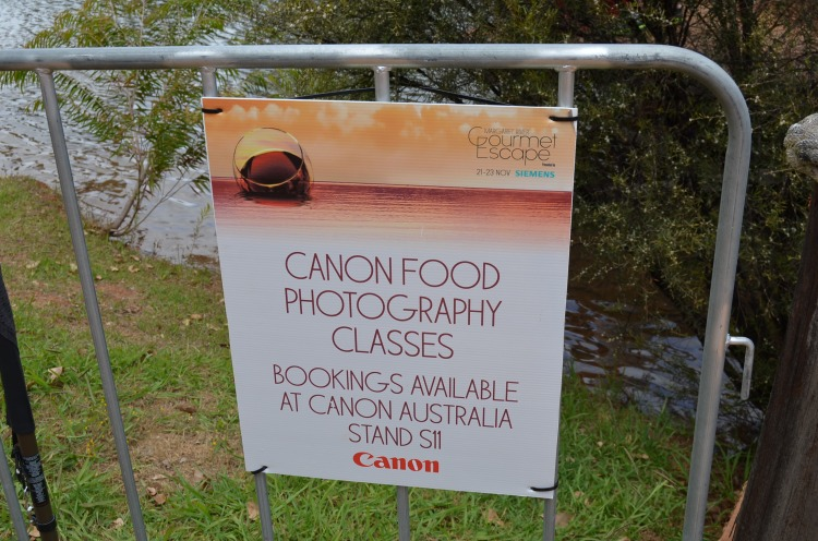 Canon Food Photography Class