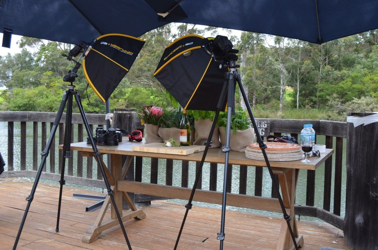 Canon Food Photography set up