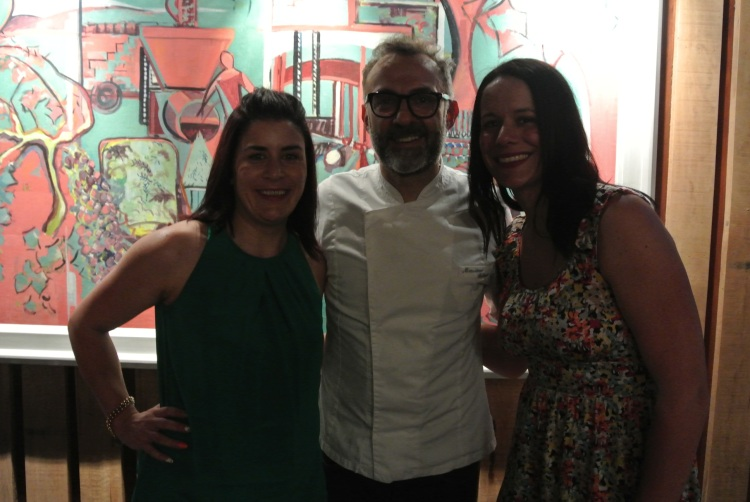 With the great man- Massimo Bottura