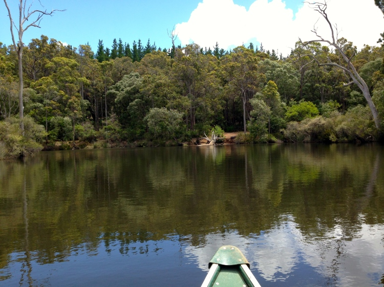 Canoeing on Margaret River