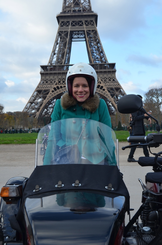 Sidecar tour of Paris