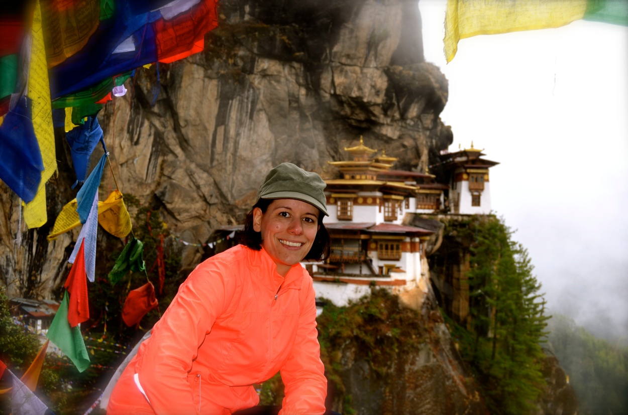 Reaching the summit of Tiger's Nest Monastery in Bhutan