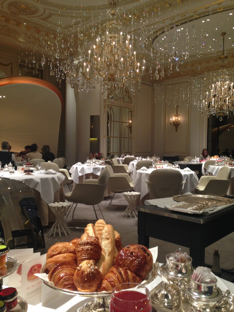 Breakfast at Plaza Athenee