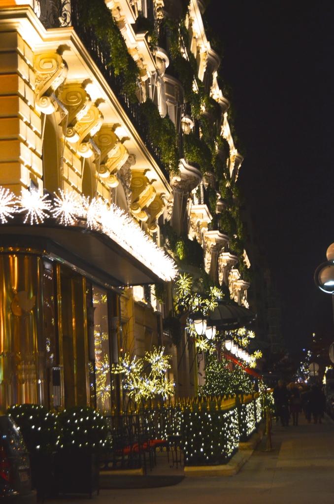 The Hôtel Plaza Athénée