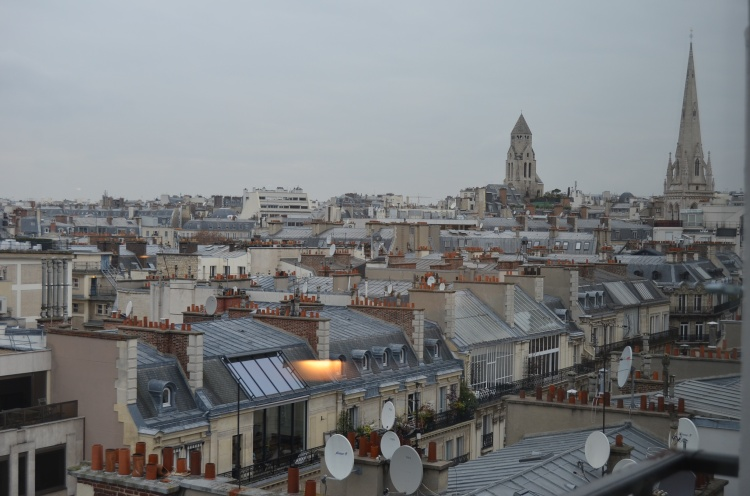 The view of Paris from the Suite 878 at Hôtel Plaza Athénée