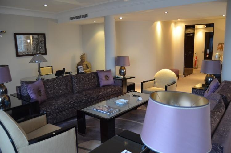 A suite at Hôtel Plaza Athénée
