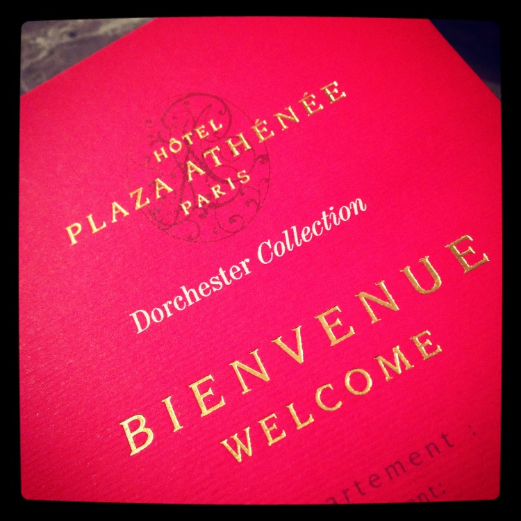 Welcome to the Hôtel Plaza Athénée